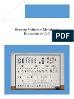 Brewing Methods o Métodos de Extracción de Café