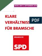 Kommunalwahlprogramm 2016-2021