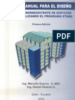 Manual de Diseño Sismorresistente Usando ETABS