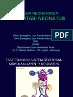Resusitasi Neonatus - Pa-dokter - Dr Dadang