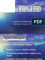 MEMBACA & MENDENGAR