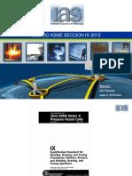 ASME Secci n IX 2015 Parte 1