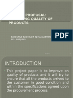 Operation Projects Paper