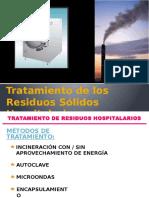 Tratamiento de Los Residuos Sólidos Hospitalarios