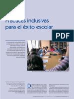 Prácticas inclusivas para el éxito escolar