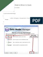 How to Add a Data Model to MiCom S1 Studio
