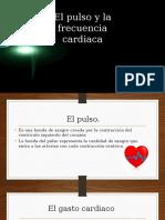 El Pulso y La Frecuencia Cardiaca