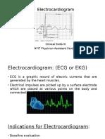 Electrocardiogram (1)