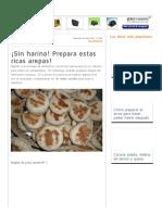 ¡Sin harina! Prepara estas ricas arepas! _ Cocina.pdf