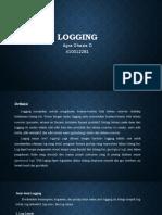 Logging method
