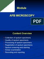 AFB Microscopy