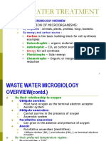 Lecture 7-Wastewater & Activated Sludge Treatment