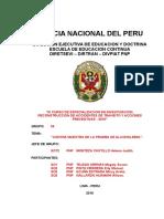 Protocolo Para El Tratamiento de Las Evidencias Encontradas en El Lugar Del Accidente en El Marco Del Ncpp.