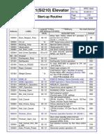 SIGMA LG-OTIS Di1(Si210) SPEC Table (Programacion)