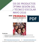 FormatoCTE7Primaria