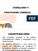 iusnaturalismo y positivismo juridico