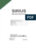 Manual Manobra Sirius KDT11