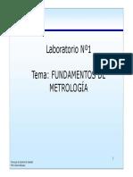 Unexpo Lab. Tema 1 Fundamentos de La Metrologia 2015 i Tecnicas de Control de Calidad