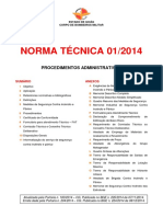 Nt 01 2014 Procedimentos Administrativos