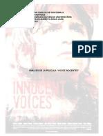 Análisis Voces Inocentes