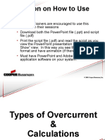 Types of Overcurrents & Calculations - NEC