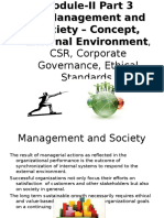 1- Management and Society & External Evnironment