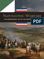 Napoleonic Warfare, The Operational Art of the Great Campaigns - John T Kuehn