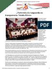 13-05-16 Gobernadora Pavlovich a La Vanguardia en Transparencia_ Natalia Rivera _ Canal Sonora