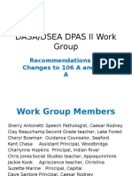 DSEA Teacher Evaluation Work Group Recommendations