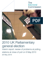 Interim Report Polling Station Queues Complete