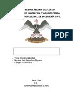Constructabilidad en El Peru