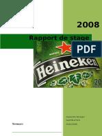 Rapport de Stage Heineken