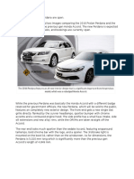 Proton Perdana vs Honda Accord