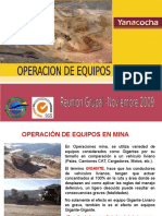 11 Operacion de Equipos - Mina
