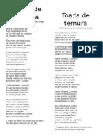 Toada de Ternura