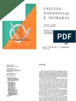 Calculo Diferencial e Integral - Taylor-wade-limusa