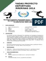 2014-PROYECTO OLIMPIADAS.