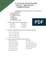 Clase #1 Notacion Cientifica
