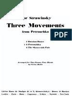 Stravinsky-Babin - Petruchka (2 Pianos)
