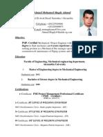 Eng.ahmed Mohamed Magdy Ahmed C.V