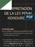 Interpretacion Ley Penal