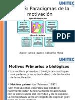 Tema 3 Paradigmas de La Motivación