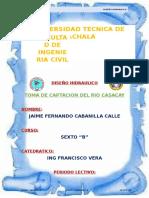 Toma Casacay Jaime Cabanilla