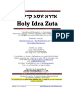IdraZuta-DailyZohar