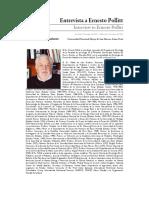 Entrevista a Ernesto Pollit