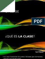 4. La Clase