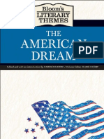 The American Dream [Bloom's Literary Themes]
