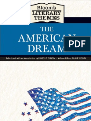 The American Dream [Bloom's Literary Themes] | Adventures Of