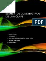 6. Elementos Constitutivos de Una Clase