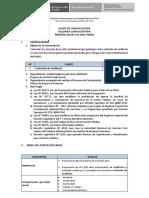 CAS N° 113- 2016-MIDIS SEGUNDA CONVOCATORIA BASES